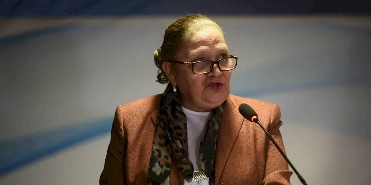 Consuelo Porras: Reitero mi compromiso por continuar trabajando en favor de la sociedad guatemalteca