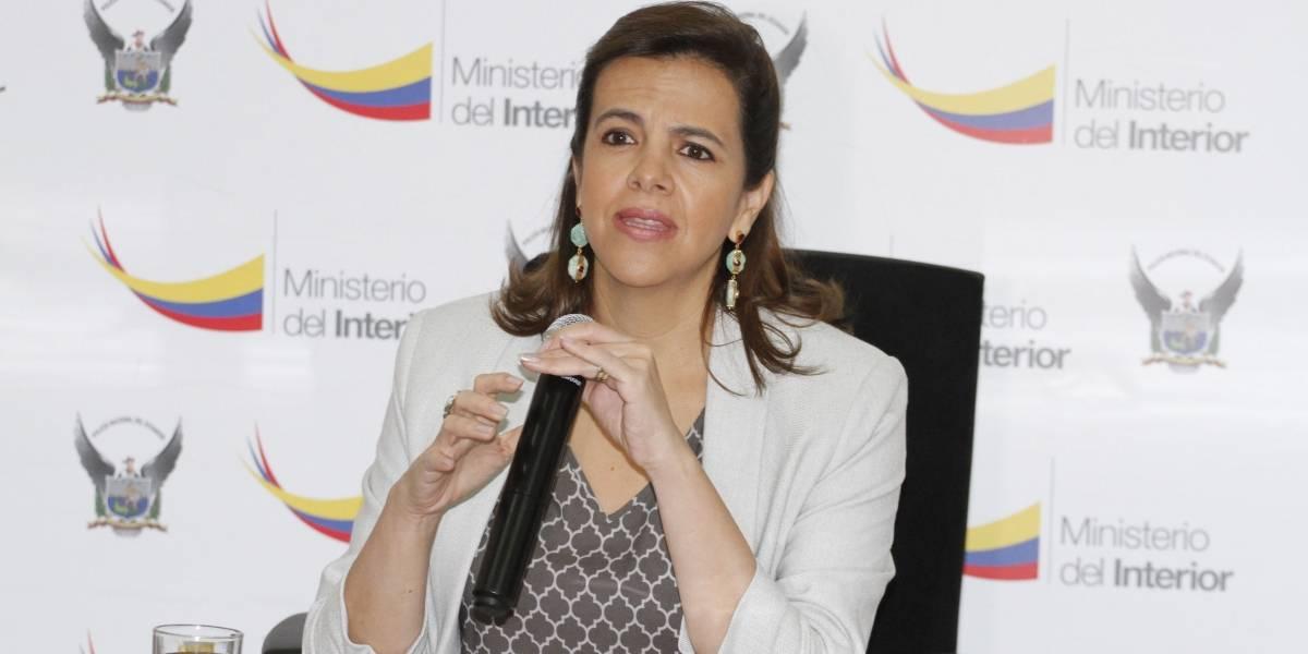 María Paula Romo comparte preocupación de inseguridad en Quito
