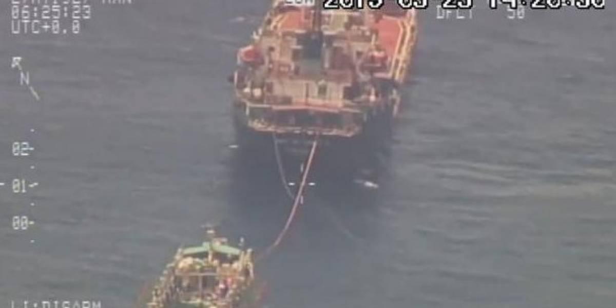 Gobierno dispone envío de buques y aviones a zona de Galápagos por presencia de flota pesquera china