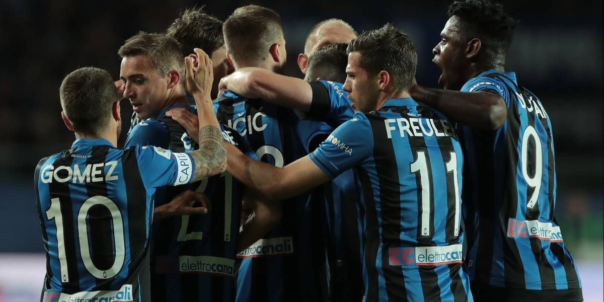 ¡A la final de Copa Italia! Muriel le ganó el duelo de goleadores a Duván, pero clasificó Atalanta