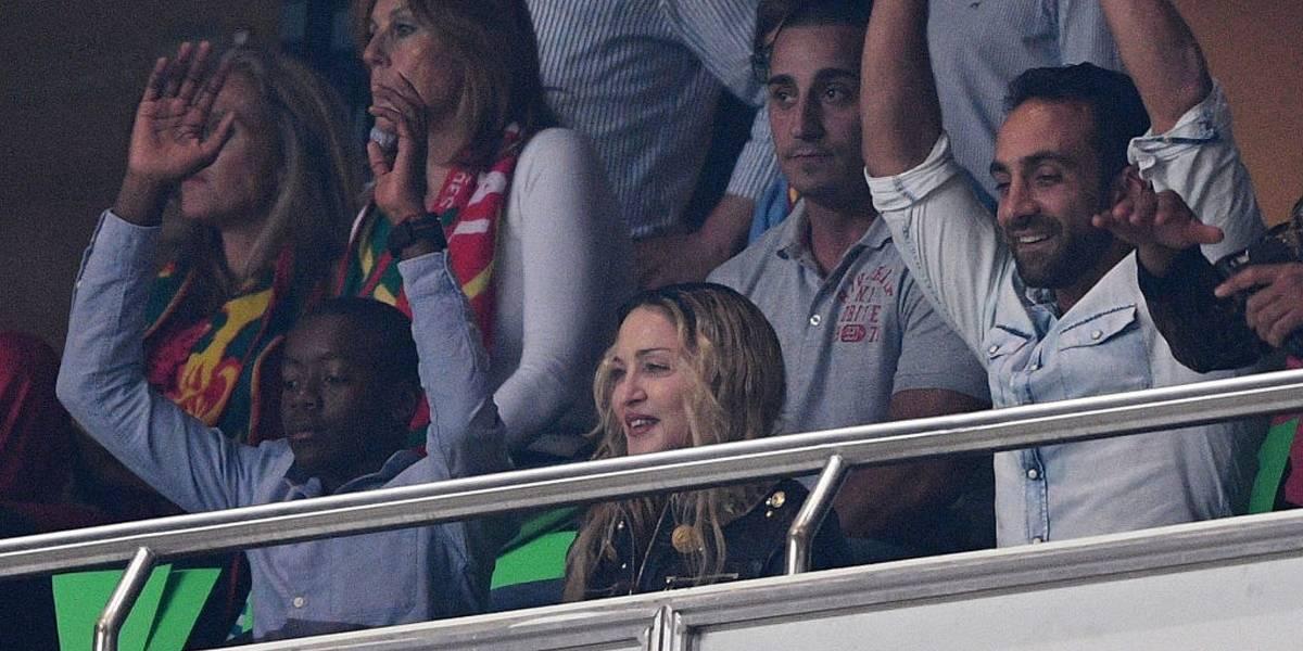 Madonna se sentiu 'deprimida' por ser 'mãe de jogador de futebol' em Lisboa