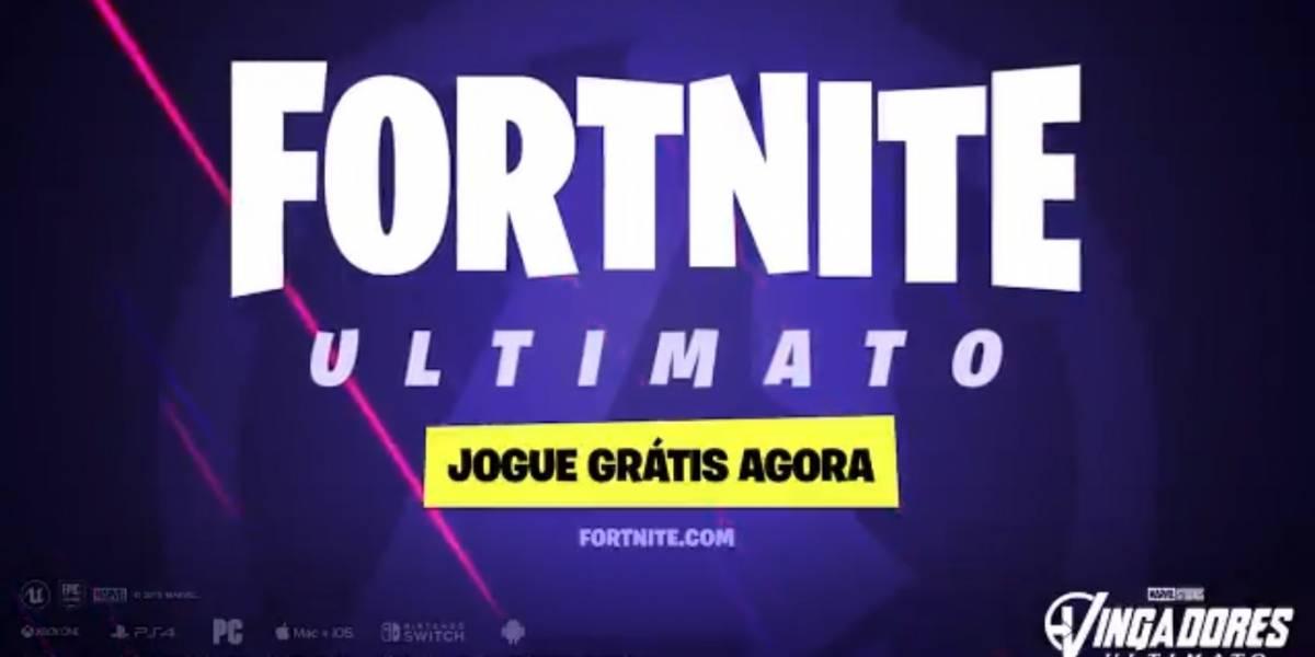 Fortnite Ultimato: 'Vingadores' já está disponível no game Battle Royale