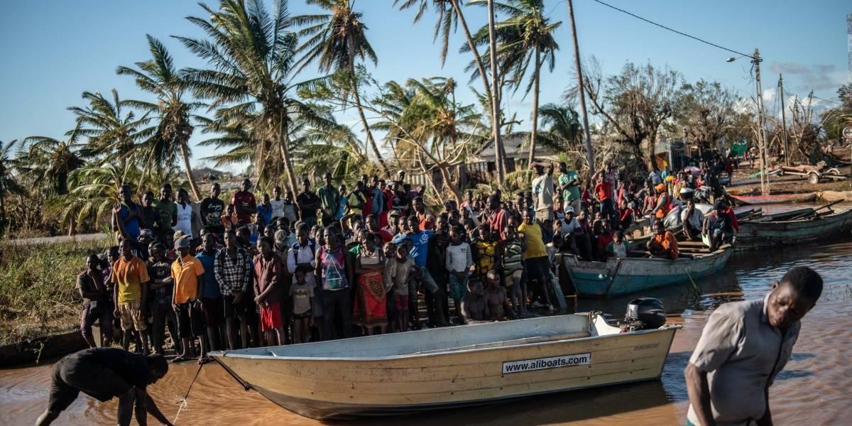 """Tras la destrucción de """"Idai"""", África recibe el devastador ciclón """"Kenneth"""""""