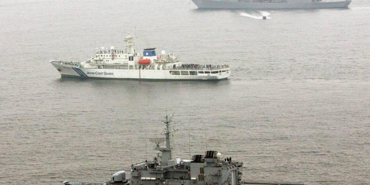 Acusa China a buque francés de entrar ilegalmente a sus aguas