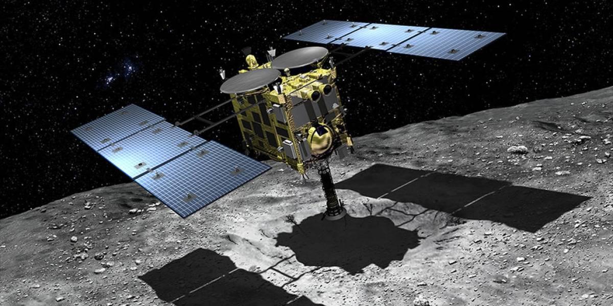 Explosão no espaço! Sonda japonesa cria cratera artificial em asteroide