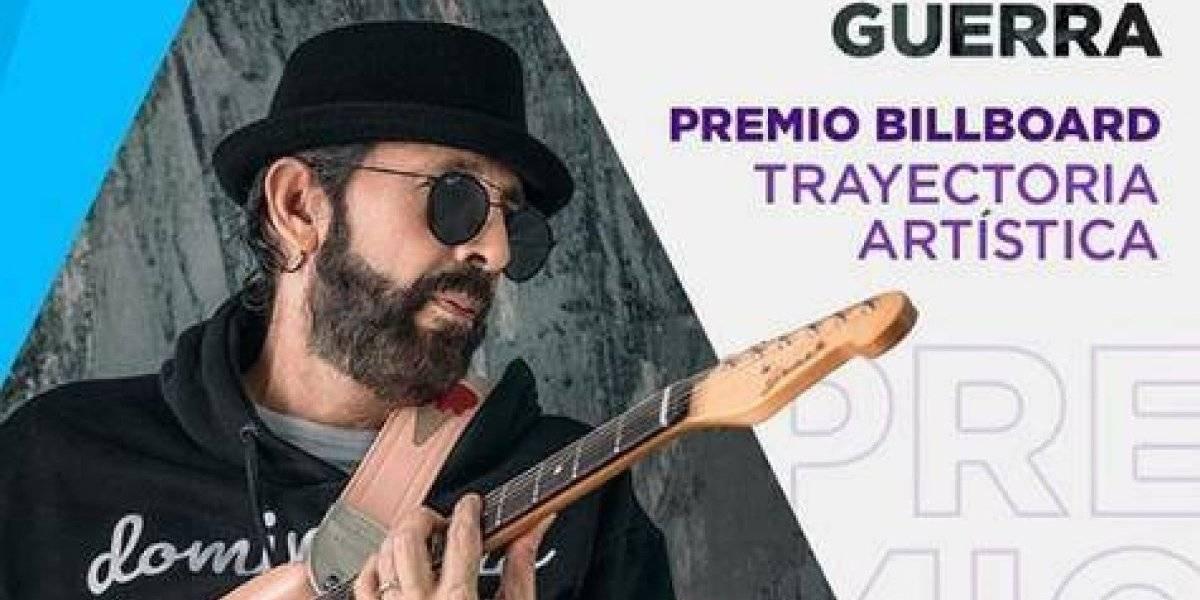 """Juan Luis Guerra recibe Premio Billboard; su disco """"Literal"""" saldrá el 31 de mayo"""