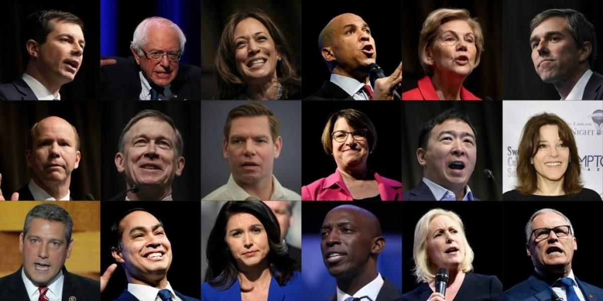 Elecciones 2020: Los aspirantes demócratas a la presidencia de EE. UU.