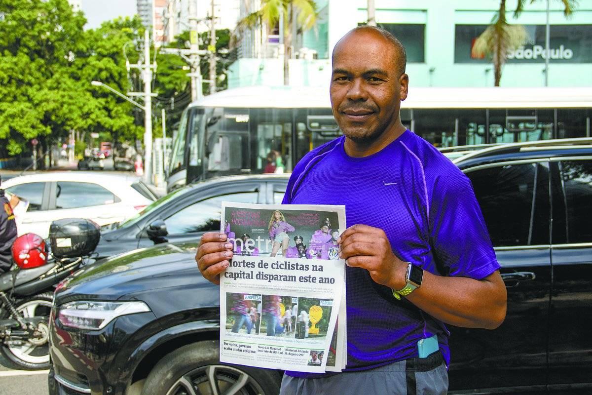 Luís Joaquim de Oliveira, 51 anos, técnico em manutenção André Porto/Metro