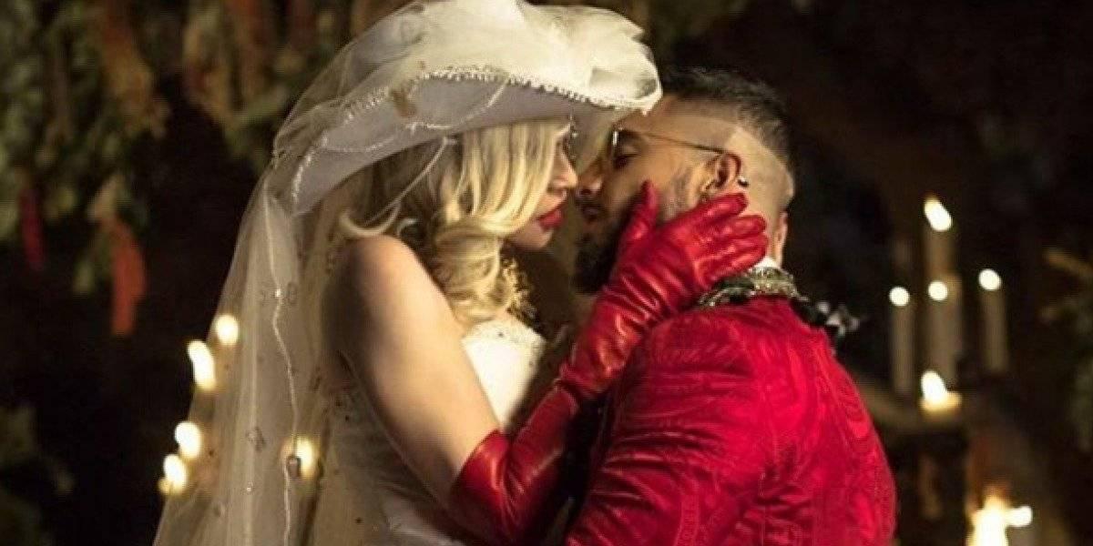 VIDEO. Los besos entre Maluma y Madonna que escandalizaron las redes