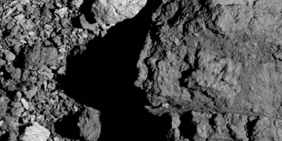 Sonda OSIRIS-REx da NASA revela nova visão do asteroide Bennu