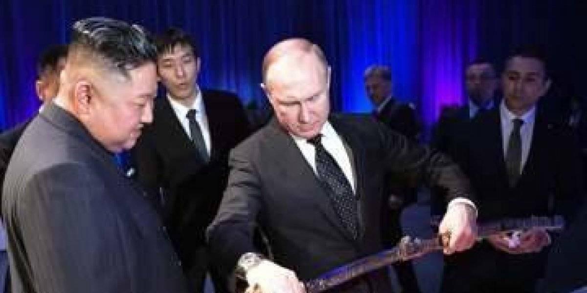 Cruce de espadas entre Kim y Putin en un encuentro histórico