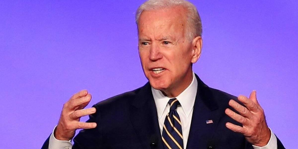 Biden dice que no buscará reelegirse si gana las elecciones