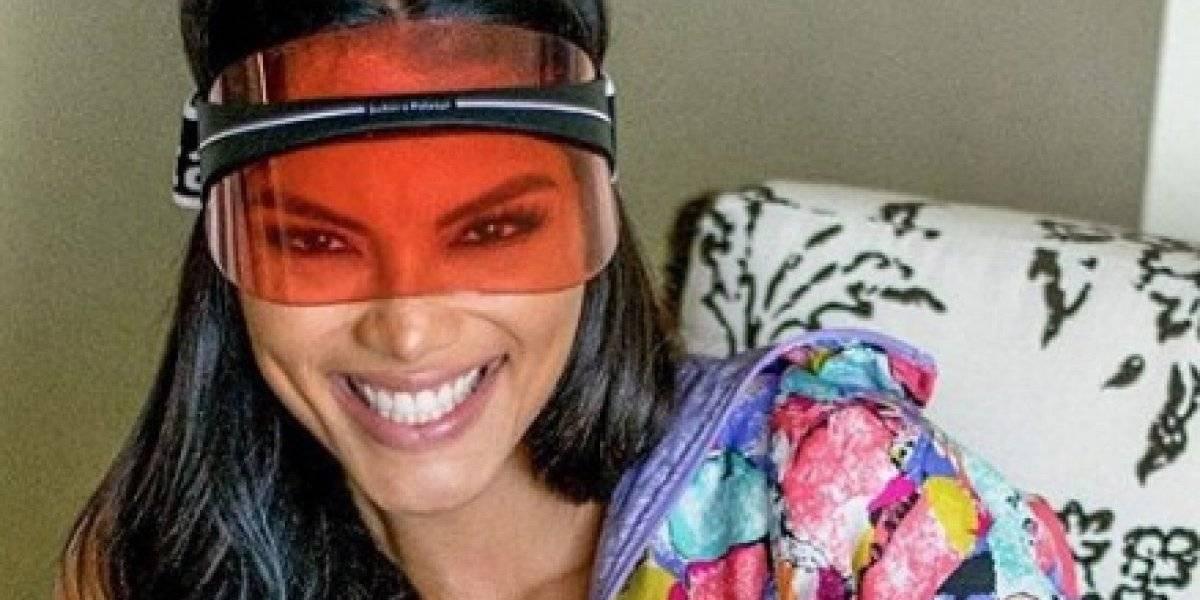 Asistente de Zuleyka Rivera sufre tremenda caída en plena sesión de fotos