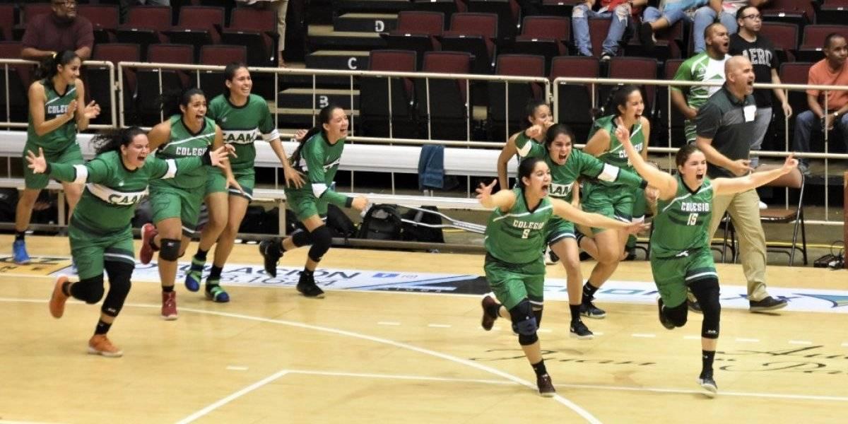 Juanas del Colegio se consagran en el baloncesto universitario