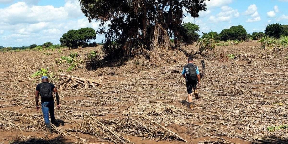 Ciclón Kenneth azota el norte de Mozambique, un mes después de Idai
