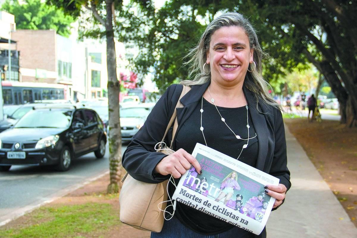 Selma Silva, 43 anos, autônoma André Porto/Metro