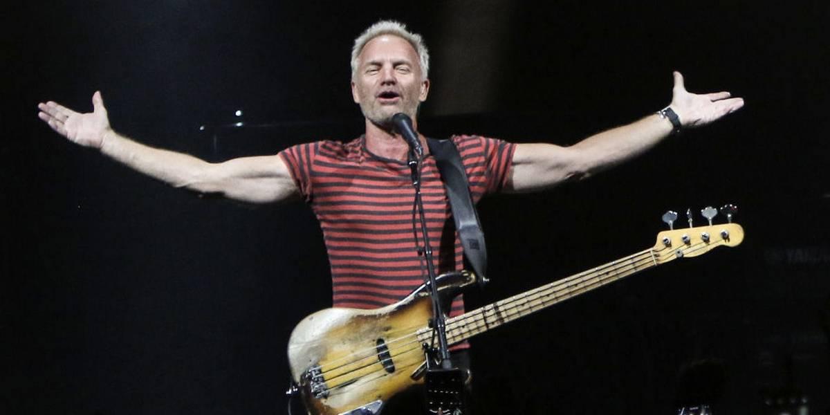 Sting dedica música para Itália em meio à pandemia