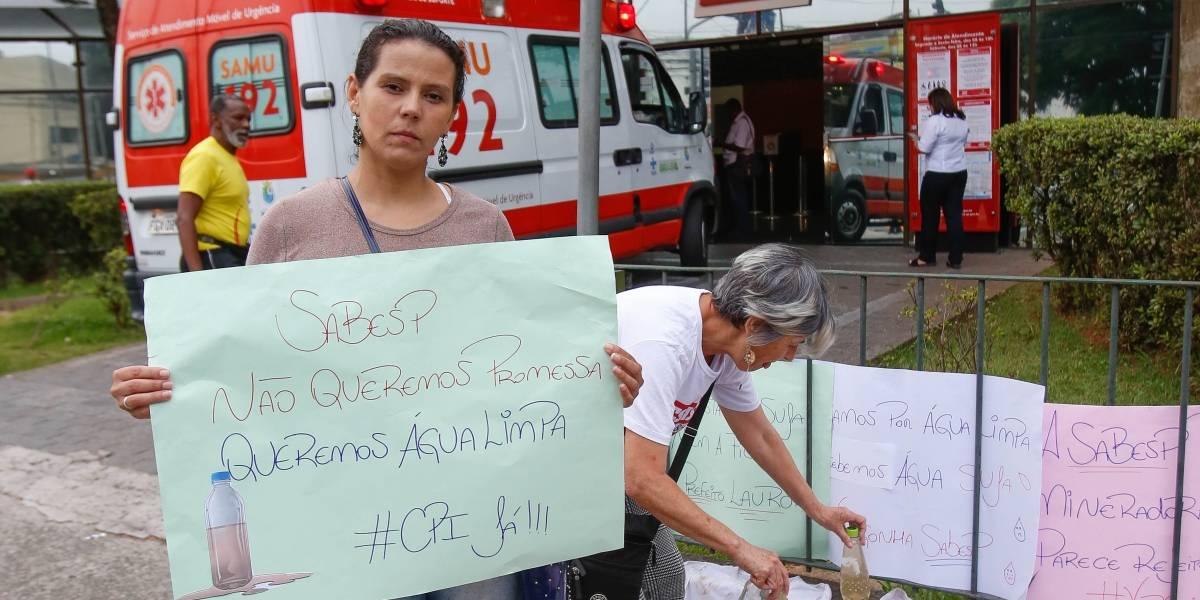 Após problemas com a qualidade da água, moradores de Santo André, São Bernardo e Diadema ficam sem abastecimento
