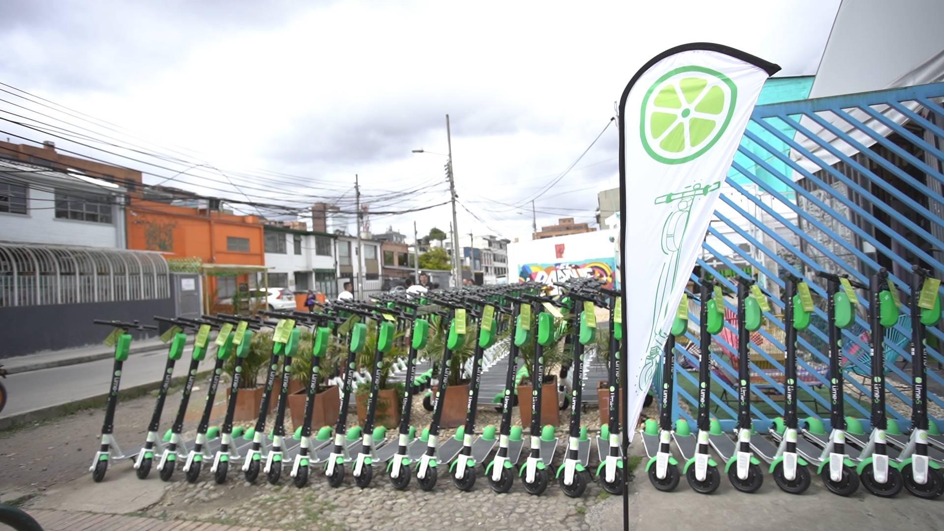 Ya era hora: Las patinetas de Lime finalmente llegan a Bogotá