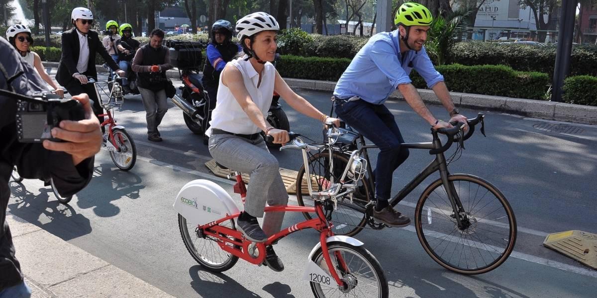 GCDMX invertirá 251 mdp para movilidad en bici: Sheinbaum
