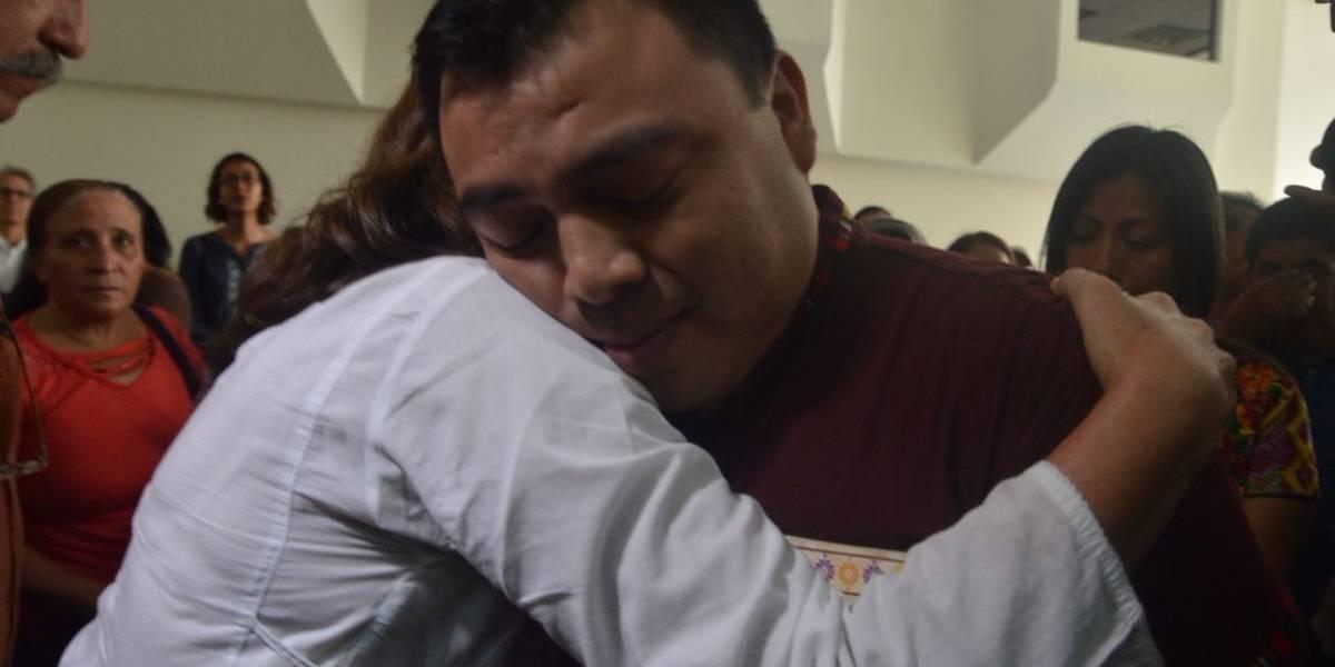 Tribunal absuelve a Abelino Chub Caal por tres delitos