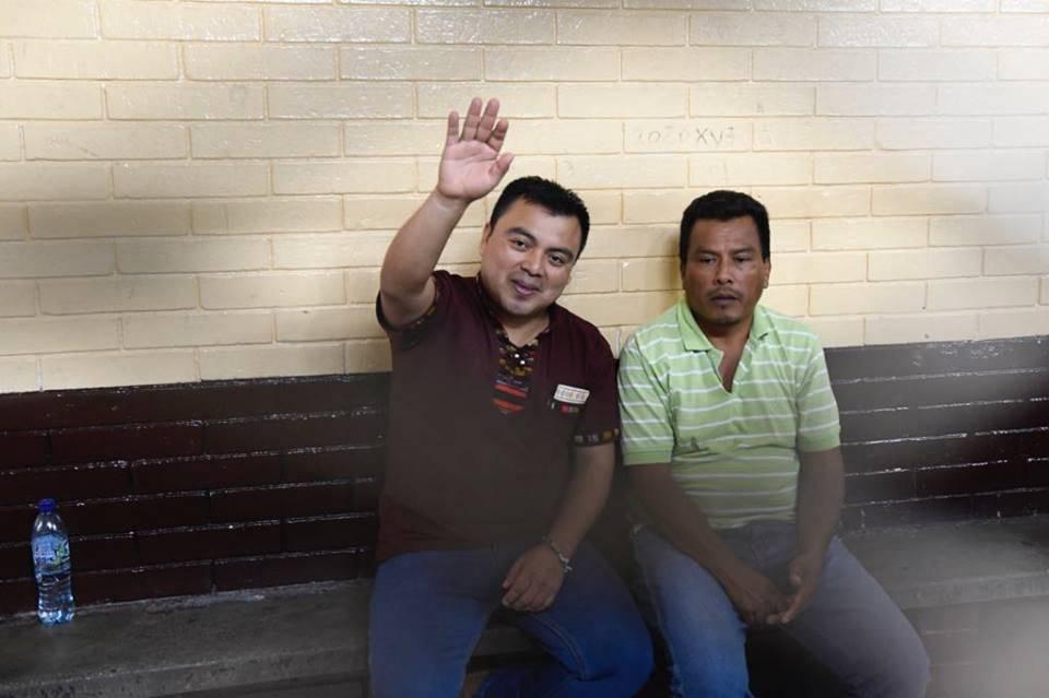 Abelino Chub Caal es absuelto por tribunal. Foto: Omar Solís