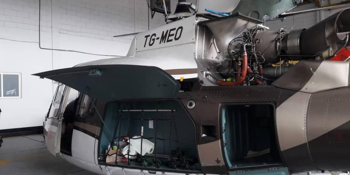 MP solicita informes a entidades sobre helicóptero de Mario Estrada