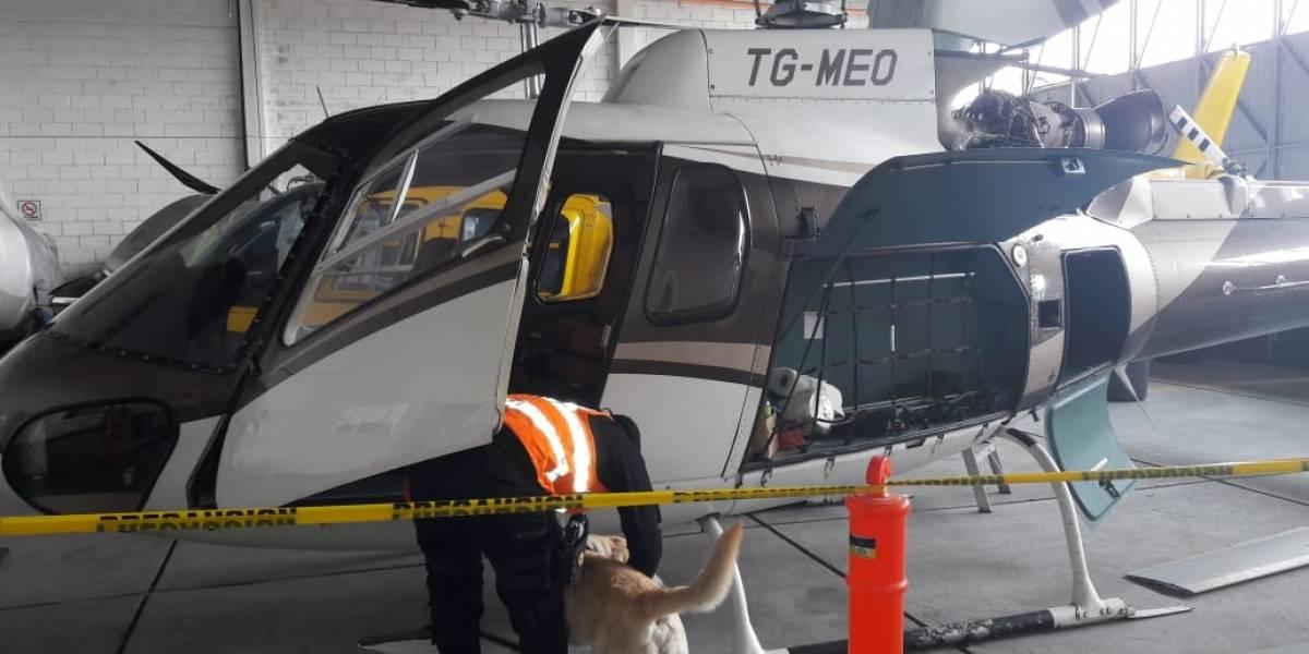 MP inspecciona aeropuerto y localiza helicóptero vinculado a Mario Estrada