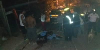 ataque armado en El Caminero, zona 8 de Mixco