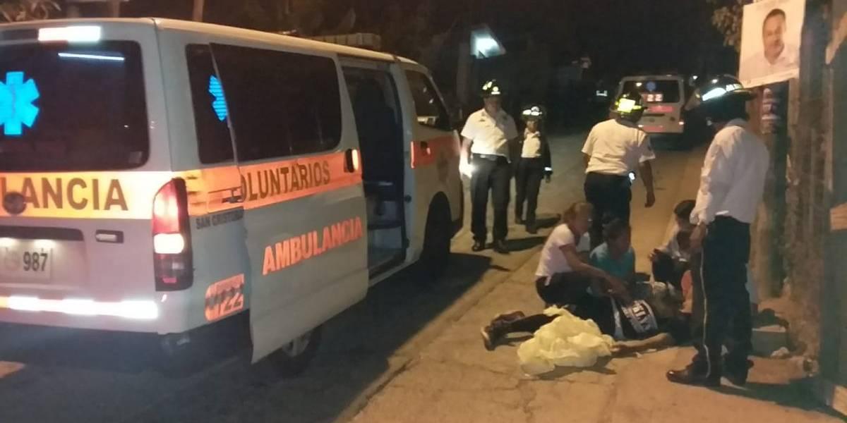 Ataques armados en Mixco dejan cinco muertos y varios heridos