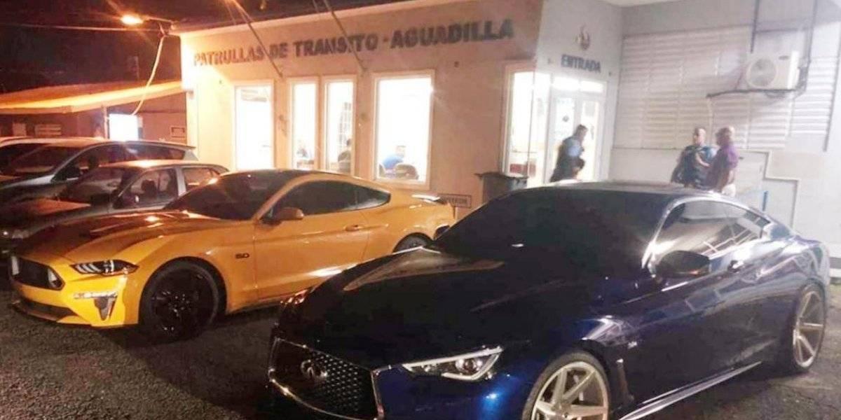 Acusan dúo y le confiscan carros por regateo en Aguadilla