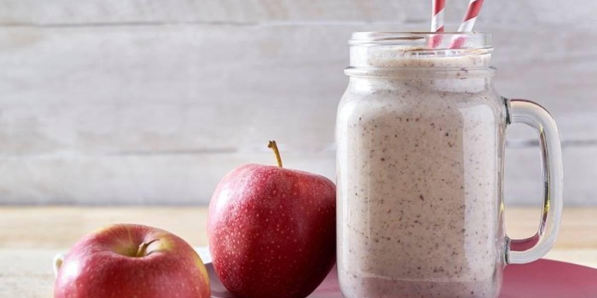 Suco de maçã, abacaxi e gengibre para diminuir a febre