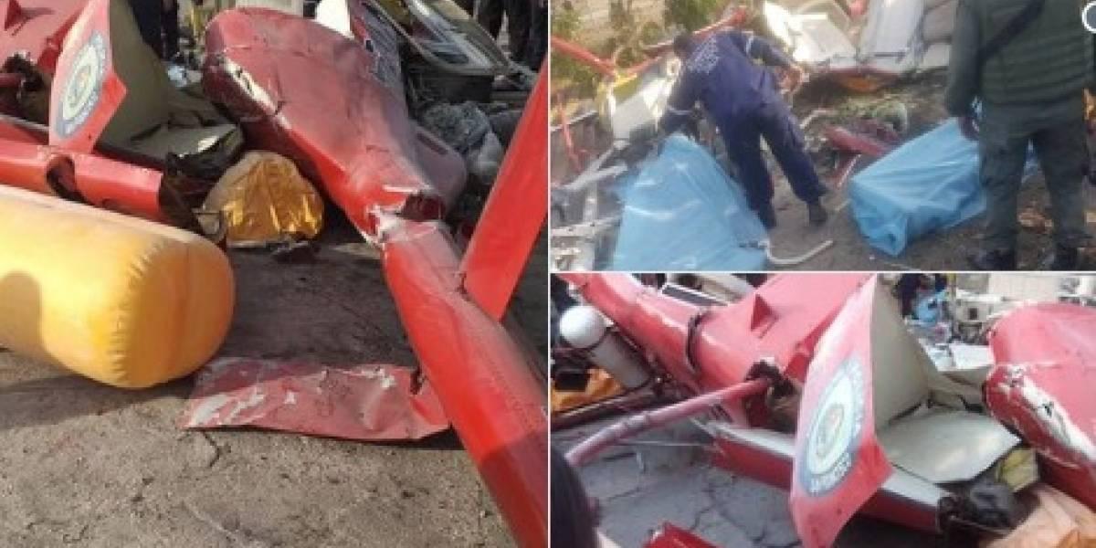 Muere general venezolano tras accidente en helicóptero