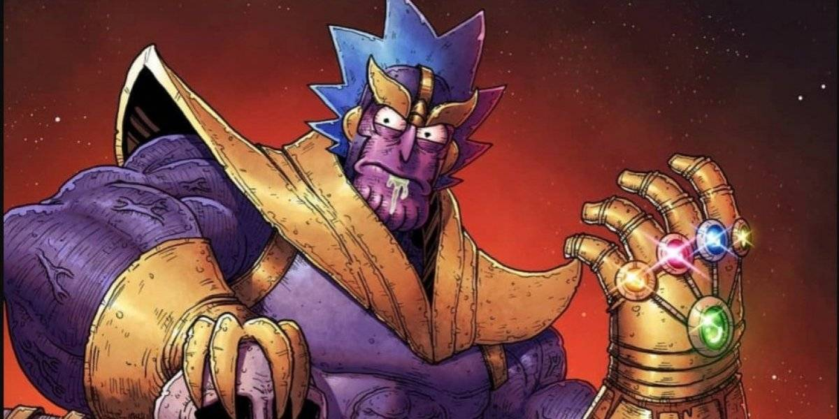 Rick and Morty hace parodia de Avengers end Game y del chasquido de Thanos