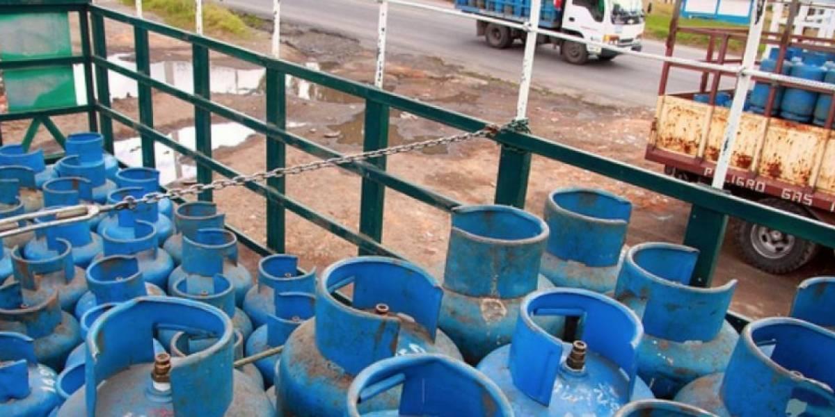 Gobierno ratifica el precio del gas de uso doméstico a USD 1,60