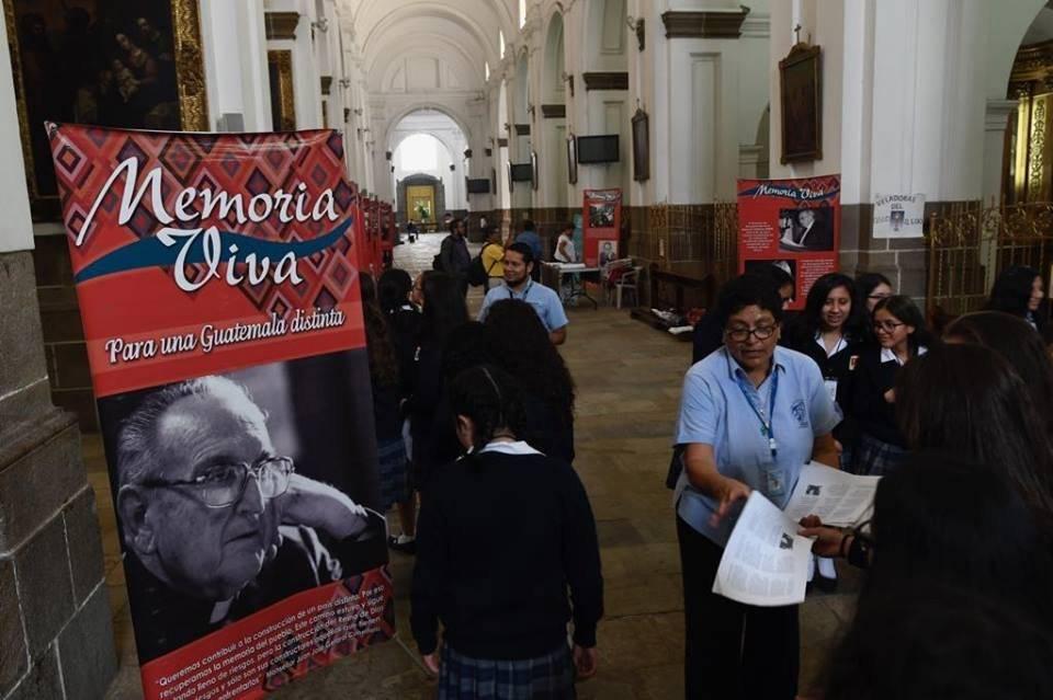 Conmemoran al obispo Juan José Gerardi. Foto: Omar Solís