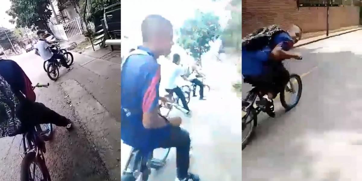Video: Amigos de joven grabaron su muerte mientras hacía carreras en bicicleta