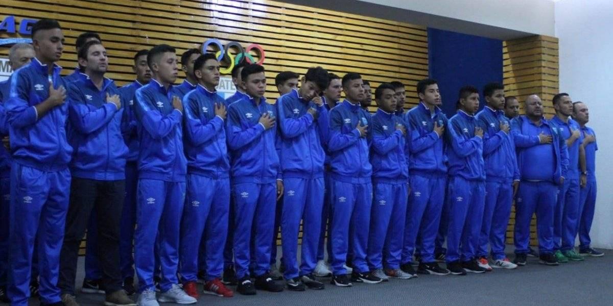 Los patojos de la selección Sub17 fueron juramentados para premundial de CONCACAF
