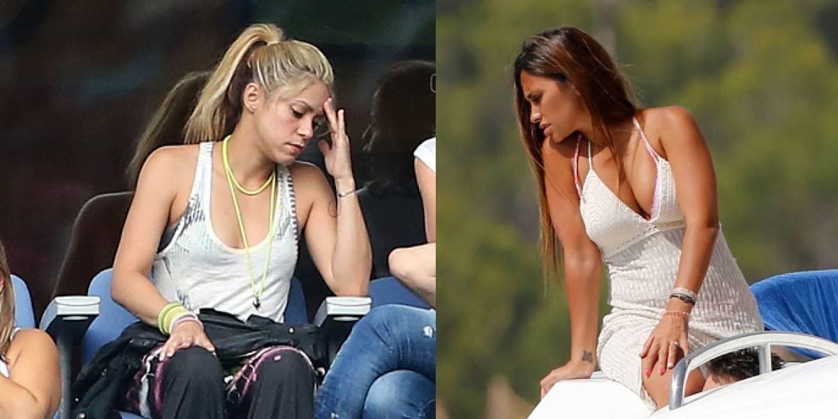 ¿Las diferencias se intensifican entre Shakira y Antonella, la esposa de Messi?