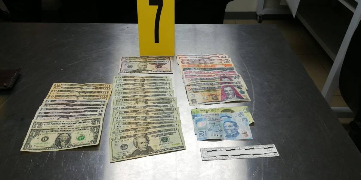Capturan a hombre en el Aeropuerto por no declarar dinero