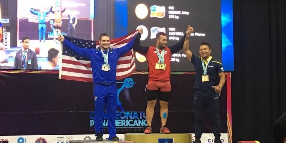 Oro y récord juvenil para halteristas guanajuatenses en el Panamericano