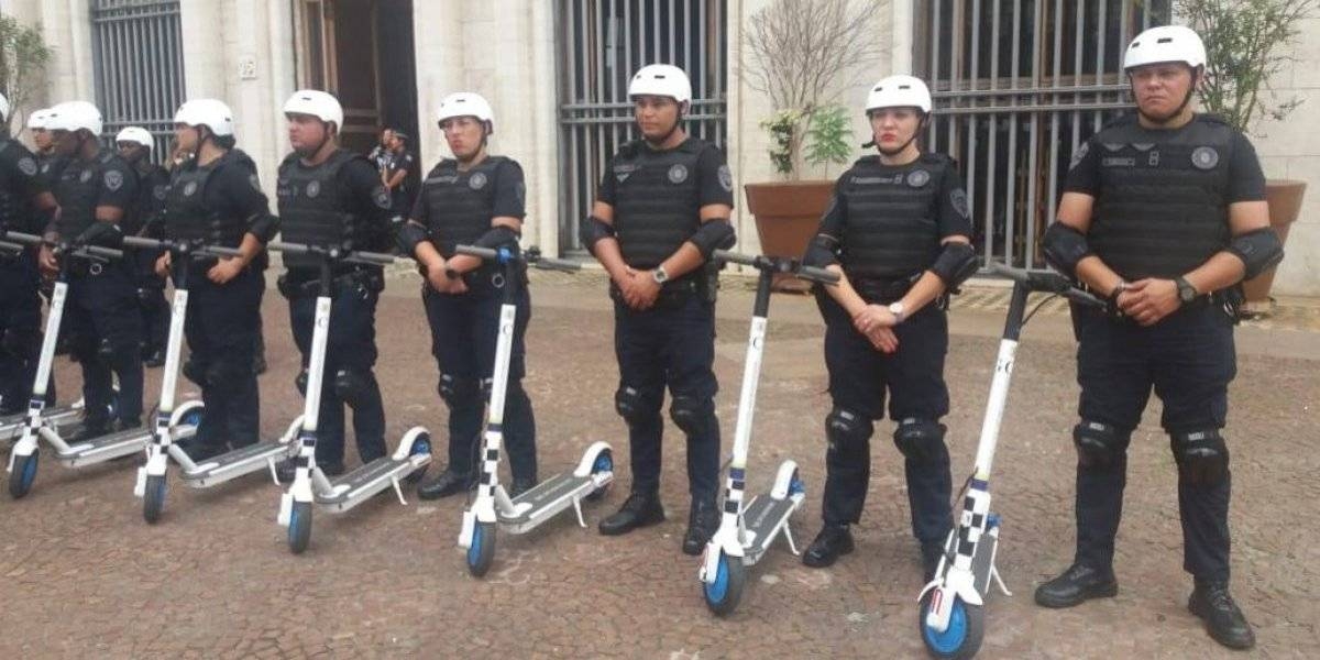 Guarda Civil Metropolitana ganha patinetes para monitorar avenidas comerciais