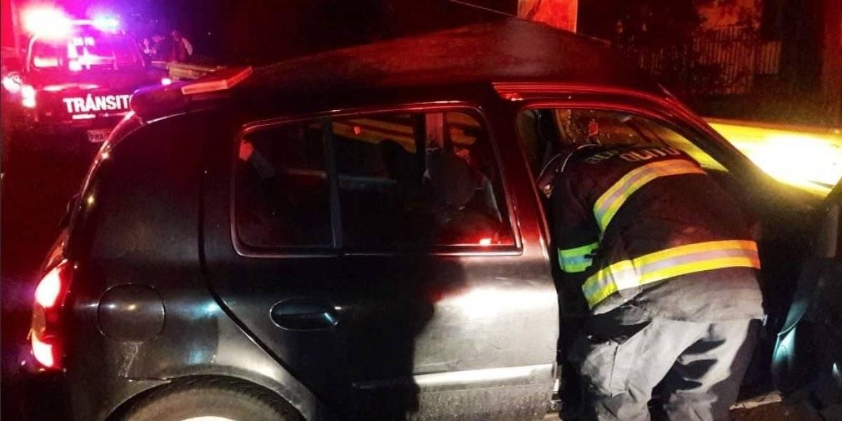Quito: Una persona fallecida tras accidente de tránsito en sector de Miraflores