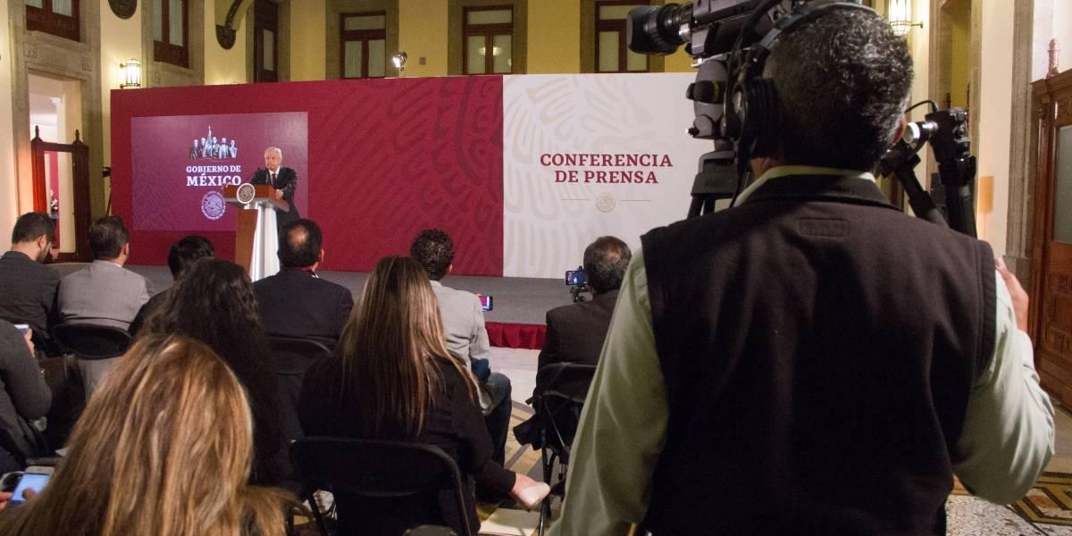 Supera AMLO en ataques a la prensa a Maduro, Trump y Bolsonaro
