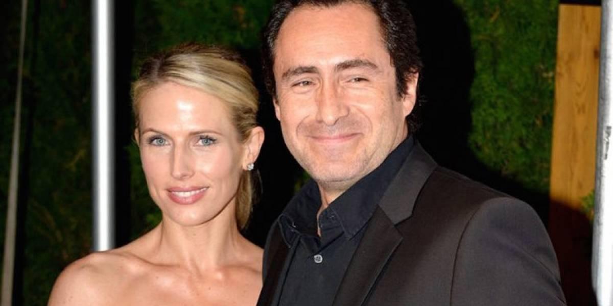 Demián Bichir confirma suicidio de su esposa, Stefanie Sherk