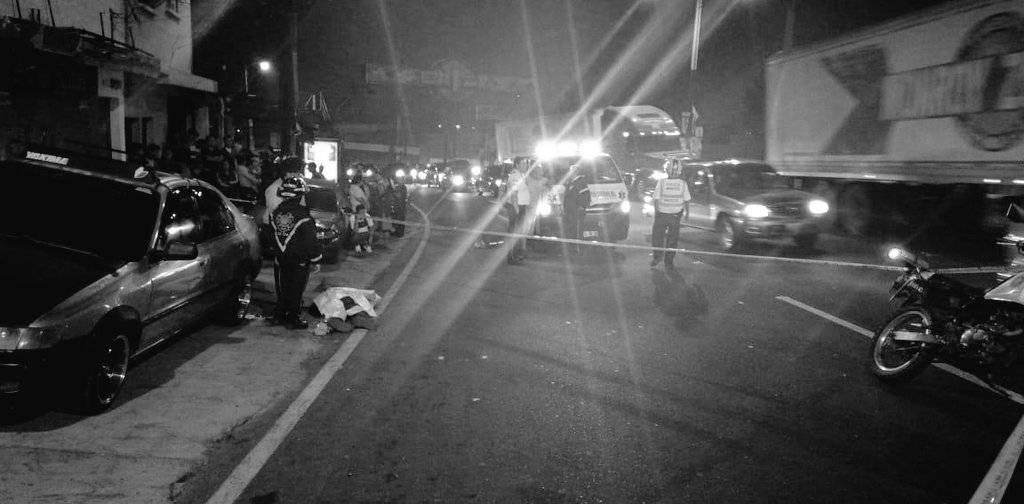 PNC captura a seis supuestos pandilleros por vínculos con ataque armado. Foto: Bomberos Voluntarios