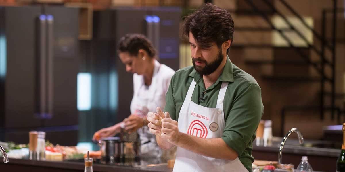 MasterChef Brasil: Fiz um prato relativamente simples, diz Eduardo Mauad