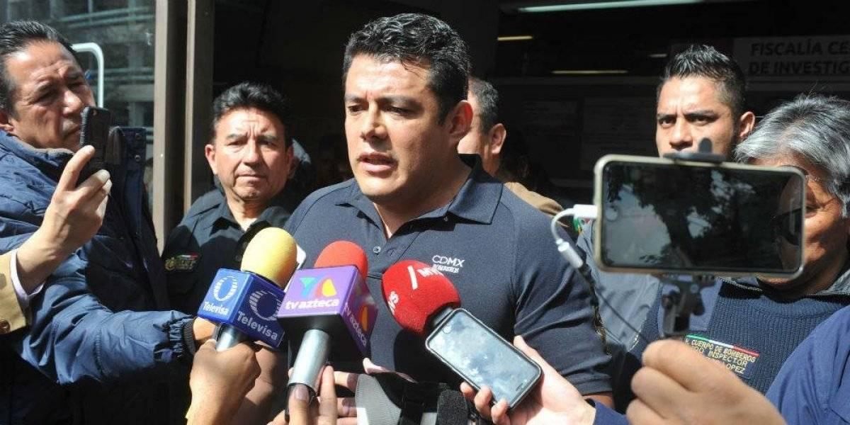 Suspenden a Ismael Figueroa de los bomberos capitalinos por desviar 200 mil pesos