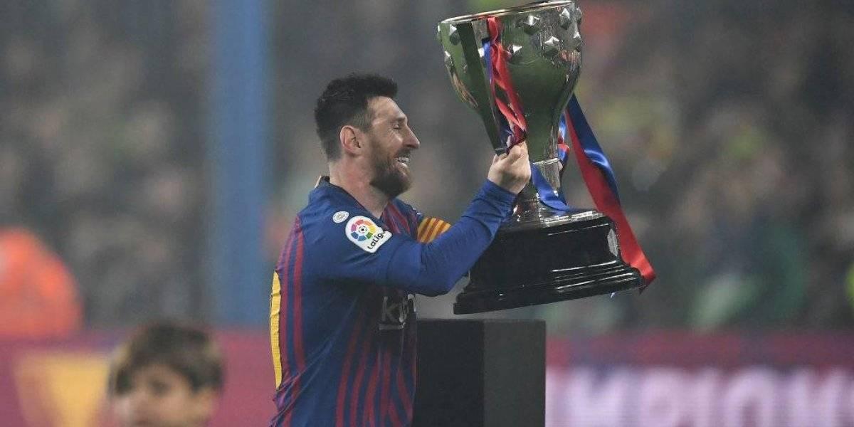 Messi consigue su décima liga española con el Barcelona