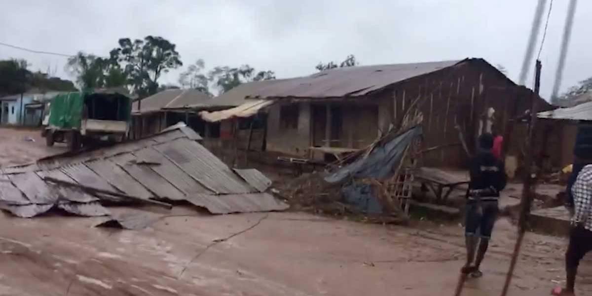 Brasileiros participam de buscas após novo ciclone atingir Moçambique